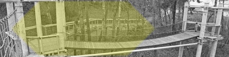 Hochseilgarten Ausbildung | Hochkant - Turm Design, Modell